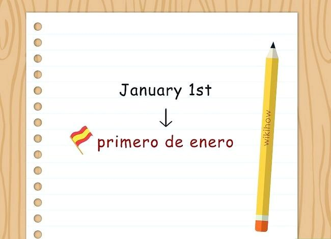 Titel afbeelding Write the Date in Spanish Step 4
