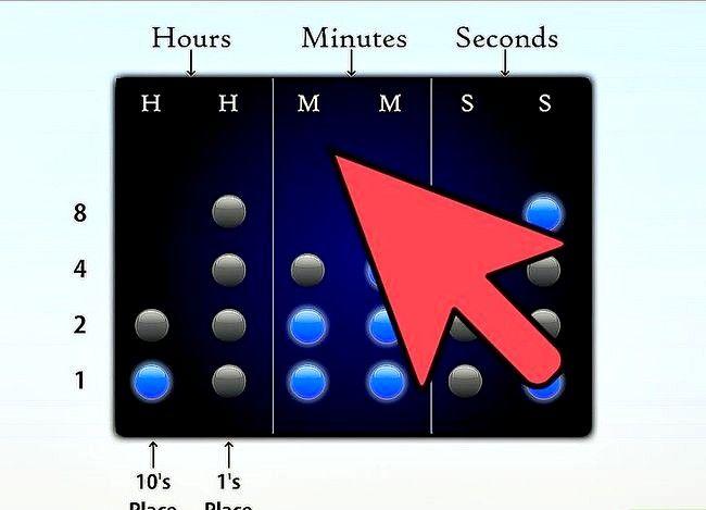 Titel afbeelding Read a Binary Clock Step 1