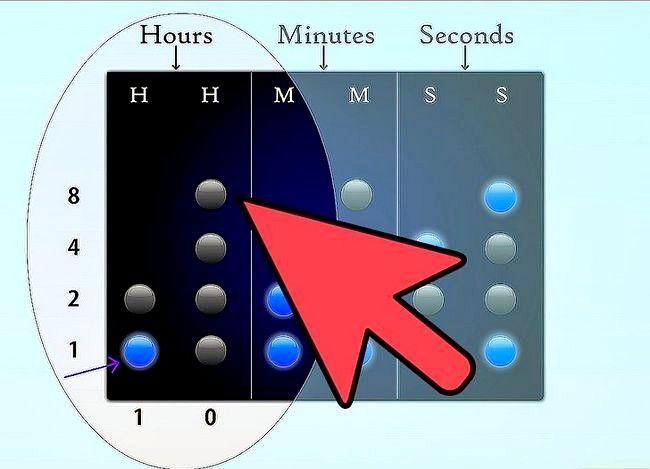 Titel afbeelding Read a Binary Clock Step 2
