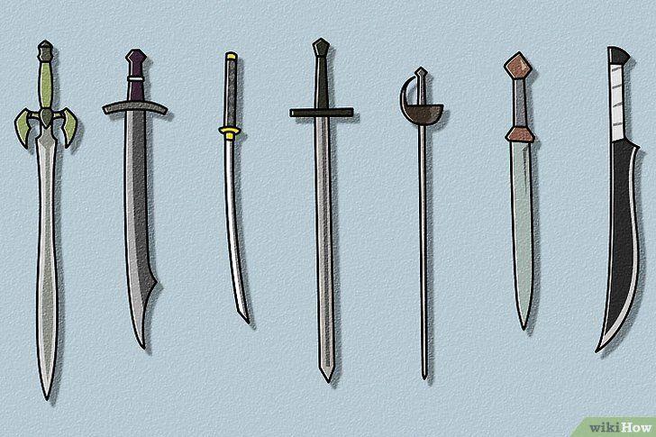 Verf zwaard