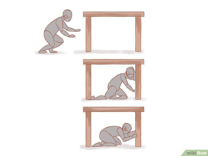 Gedrag tijdens een aardbeving