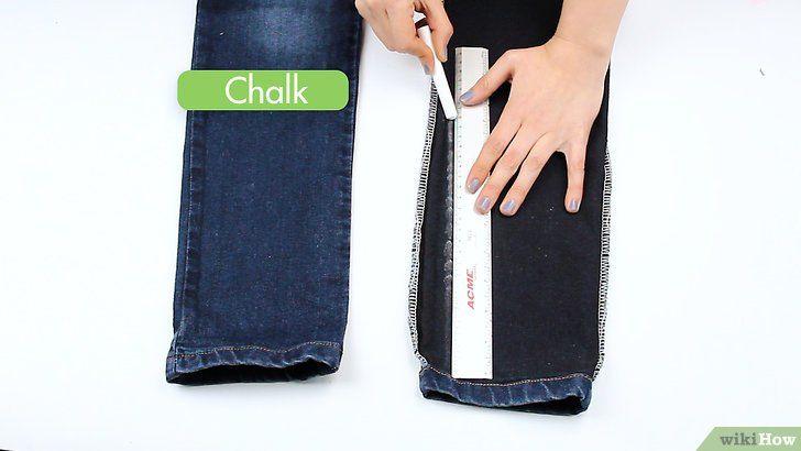 Maak een skinny jeans