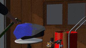 Dus je schildert de tank van een motorfiets