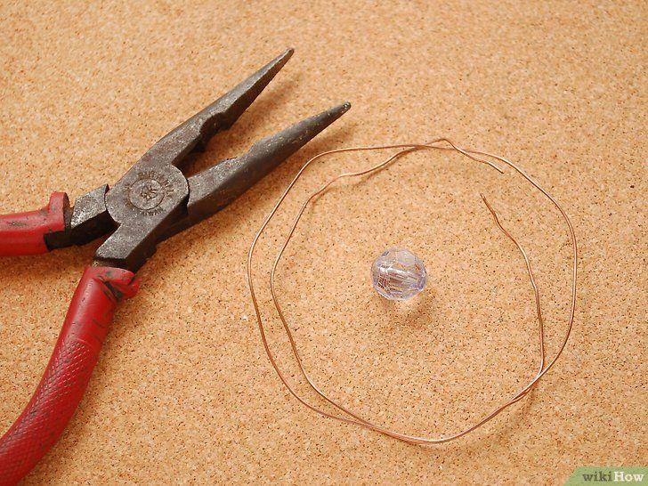 Spiraaldraad maakt parelring