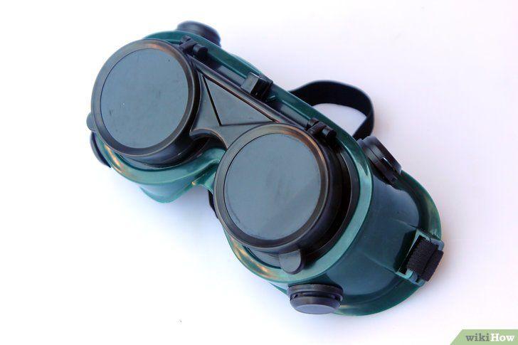Steampunk-bril maken