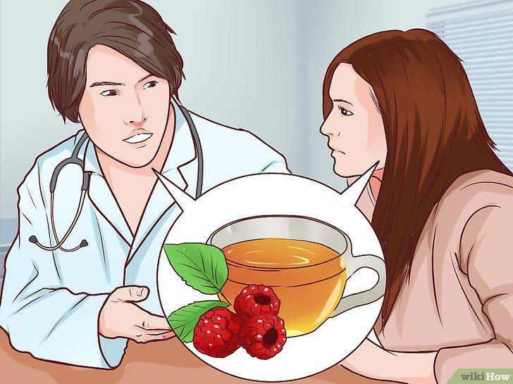 Drink frambozenblaadjes thee tijdens de zwangerschap