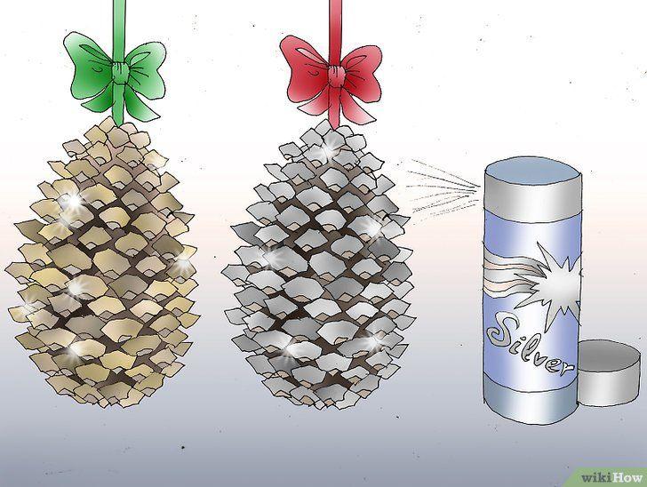 Kerstboomdecoratie om uw te maken