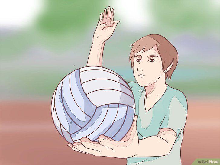 Word een volleybal-aas