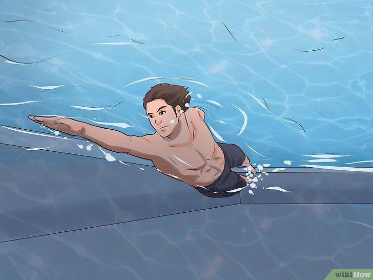 Als een zeemeermin zwemmen