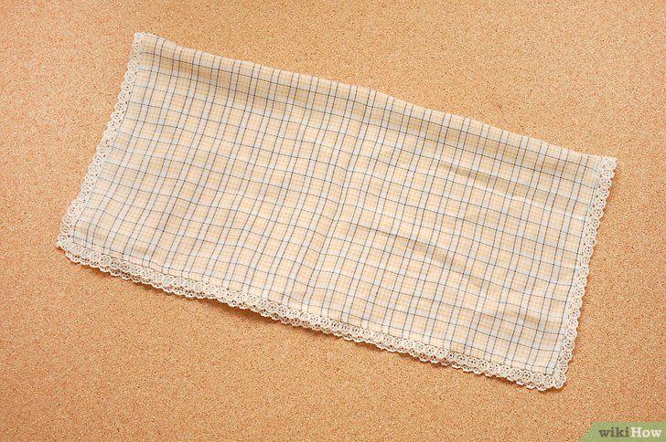 Hoe een zakdoek correct te vouwen