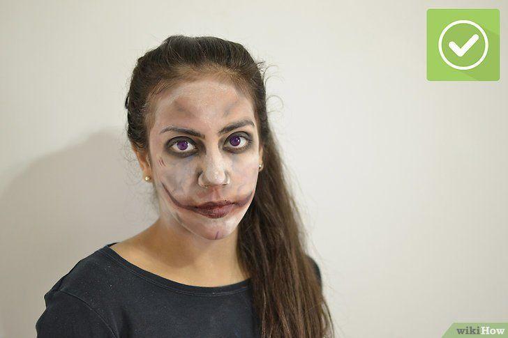Titel afbeelding Apply Zombie Makeup Step 9