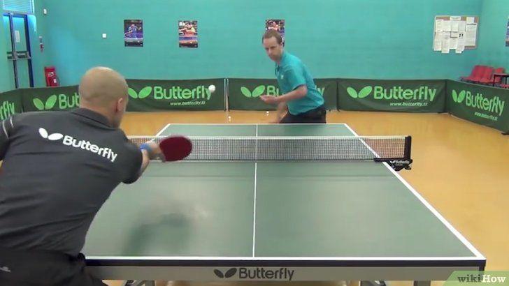 Hoe ping pong of tafeltennis te spelen