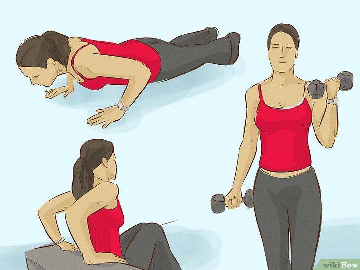 Hoe zich te ontdoen van wiebelige armen