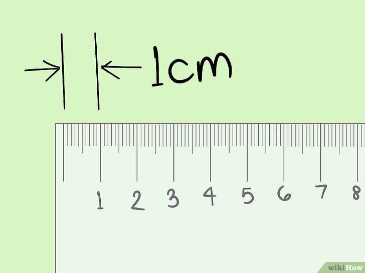 Meet centimeters