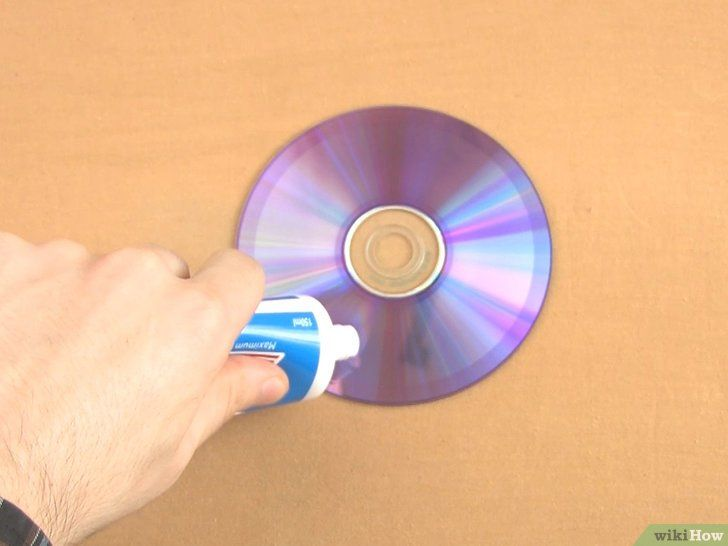 Repareer de bekraste CD