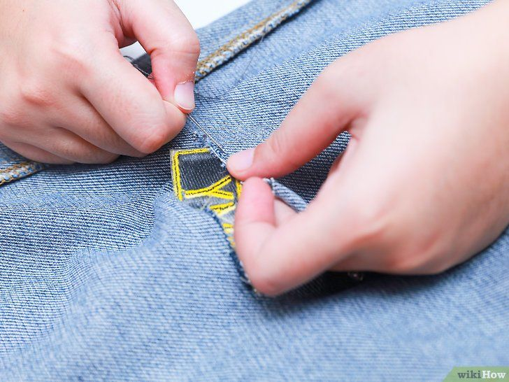 Titel afbeelding Fix Ripped Jeans Step 13
