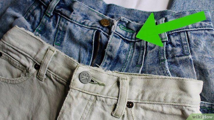 Maak een gescheurde spijkerbroek