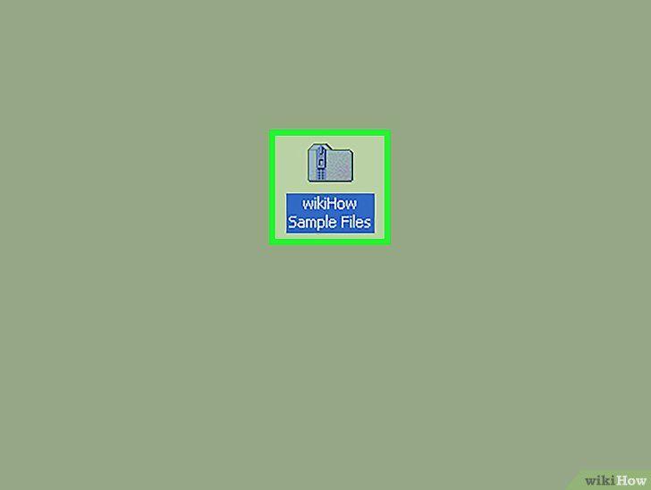 Open zip-bestanden zonder WinZip