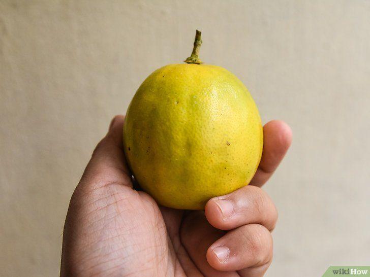 Laat citroenen rijpen