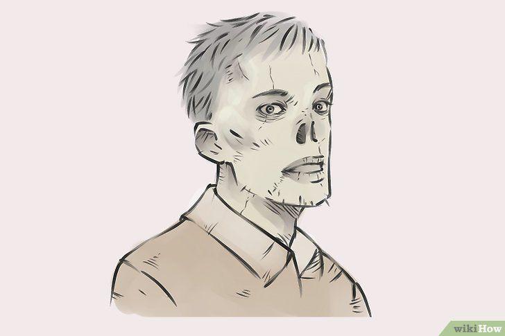 Titel afbeelding Draw Zombies Step 15