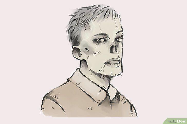Titel afbeelding Draw Zombies Step 16