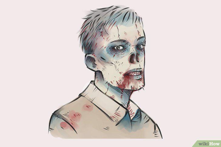 Titel afbeelding Draw Zombies Step 18