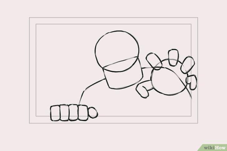 Titel afbeelding Draw Zombies Step 3