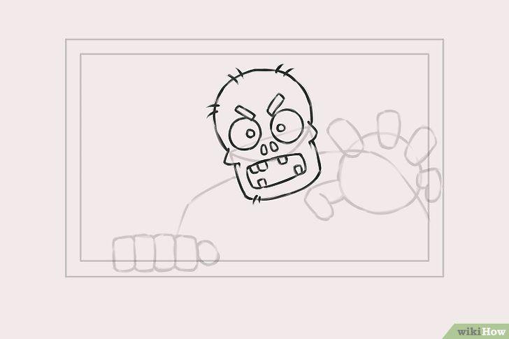 Titel afbeelding Draw Zombies Step 4