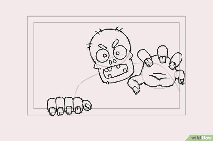 Titel afbeelding Draw Zombies Step 5
