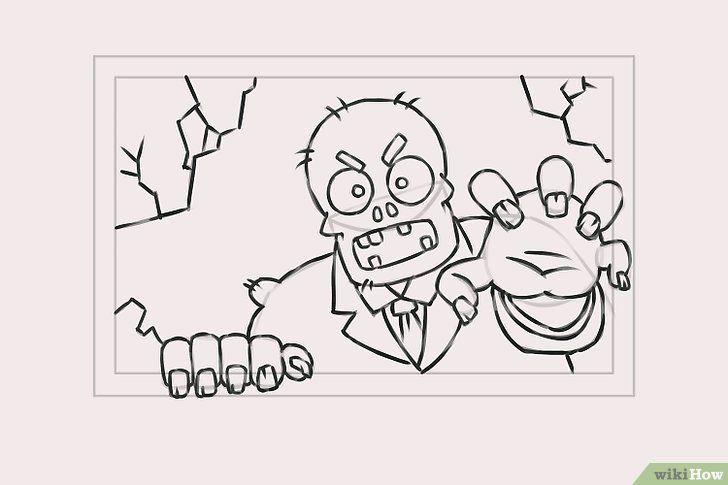 Titel afbeelding Draw Zombies Step 7