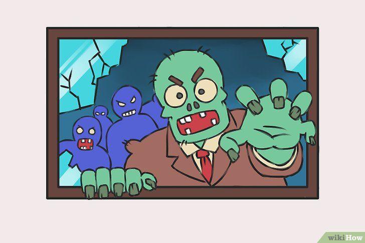 Titel afbeelding Draw Zombies Step 10