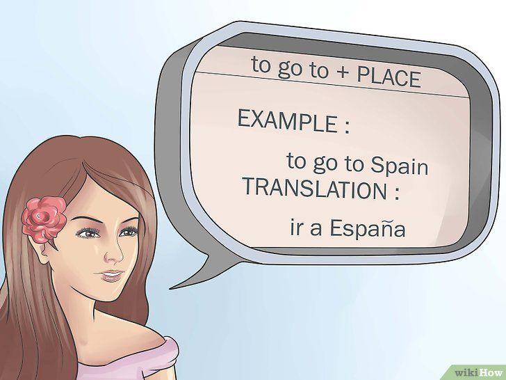 Zeggen tegen en in het Spaans