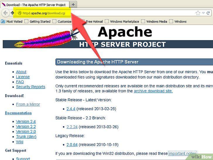 Thuis een webhost instellen