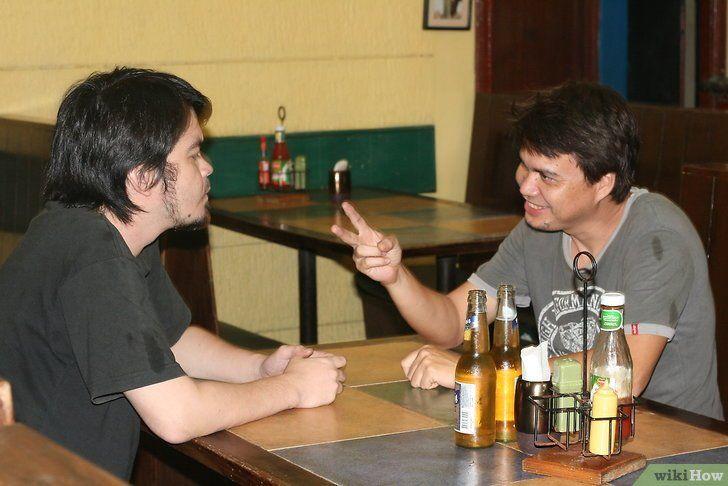 Image Drink twee biertjes voordat iemand twee foto`s maakt Stap 2