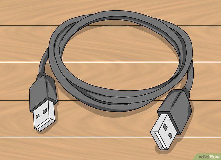 Verbind twee computers via USB