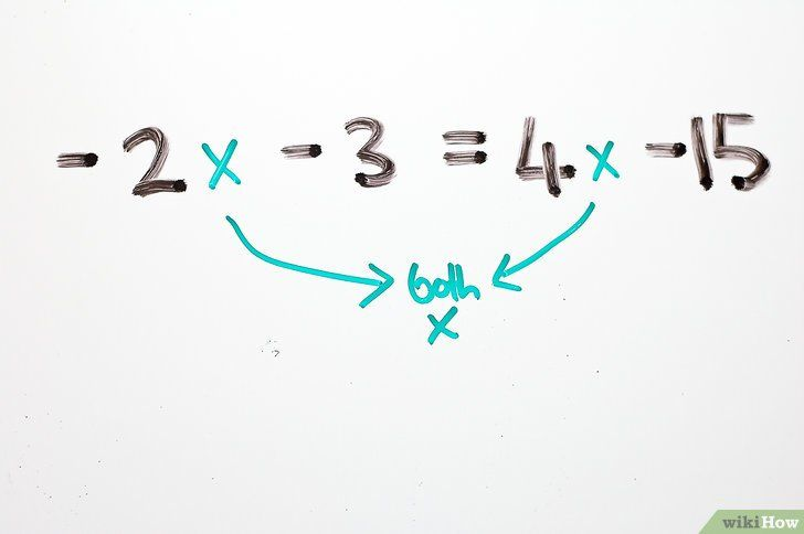 Titel afbeelding Solve Two Step Algebraic Equations Step 9