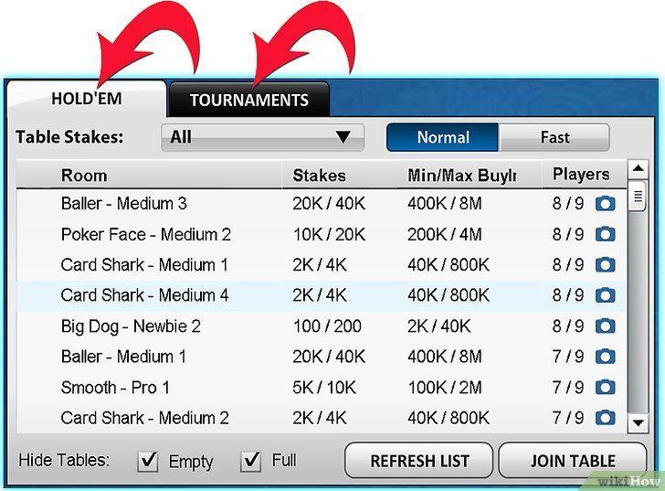 Titel afbeelding Play Zynga Poker Step 3Bullet7