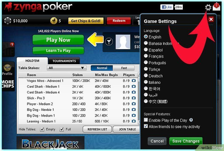Titel afbeelding Play Zynga Poker Step 3Bullet2